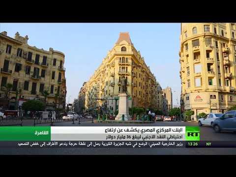 صوت الإمارات - شاهد ارتفاع الاحتياطي من النقد الأجنبي في مصر