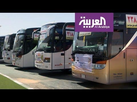 صوت الإمارات - شاهد السعودية تستقبل أول دفعة من الحجاج برا