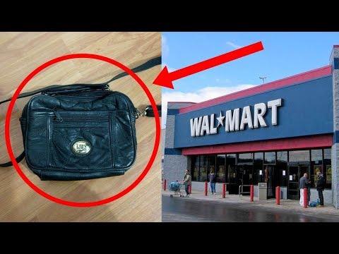 صوت الإمارات - شاهد مرأة اشترت حقيبة من وول مارت