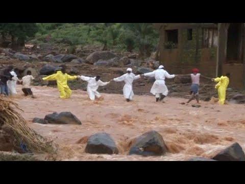 صوت الإمارات - سيراليون تستغيث بالعالم لمواجهة كارثة الفيضانات