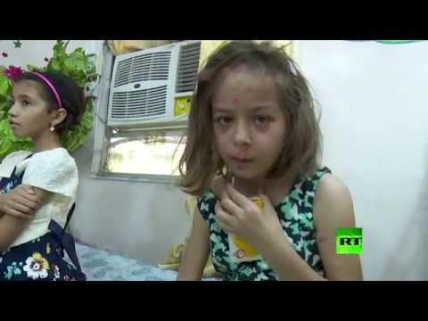 صوت الإمارات - شاهد نداء إغاثة من أجل طفلة جديدة نجت من براثن داعش