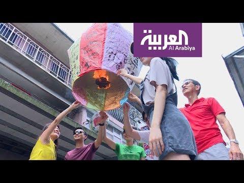 صوت الإمارات - شاهد فوانيس مصنوعة من ورق وخيزران وقطن في تايوان
