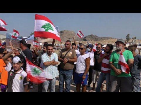 صوت الإمارات - شاهد تظاهرة لصيادي السمك في بيروت
