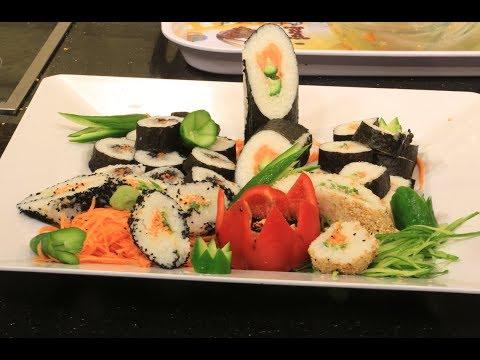 صوت الإمارات - شاهد إعداد طبق السوشي مثل المطاعم
