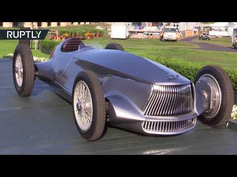 صوت الإمارات - شاهد إنفينيتي تقدم سيارة رياضية بمظهر كلاسيكي وإلكترونيات معاصرة