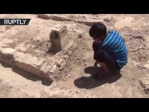 صوت الإمارات - شاهد أجمل حدائق دير الزور السورية تتحوّل إلى مقبرة