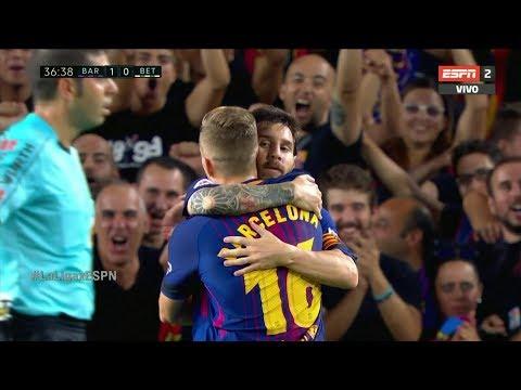 صوت الإمارات - برشلونة يكتفي بهدفين في مرمى ريال بيتيتس