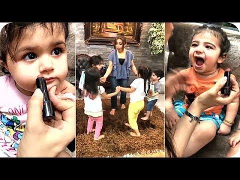 صوت الإمارات - شاهد أبرار الكويتية تزيّن فتاة صغيرة لتلعب مع أبنائها