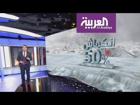 صوت الإمارات - شاهد ذوبان الثلج في المحيط المتجمّد الشمالي