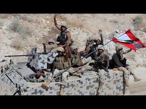 صوت الإمارات - شاهد معركة فجر الجرود  في لبنان تدخل يومها الثاني