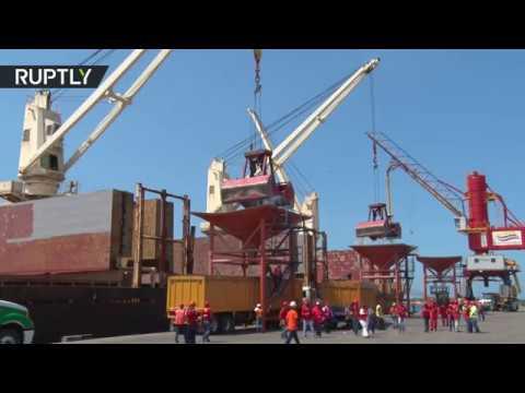 صوت الإمارات - وصول أول شحنة قمح روسي إلى فنزويلا