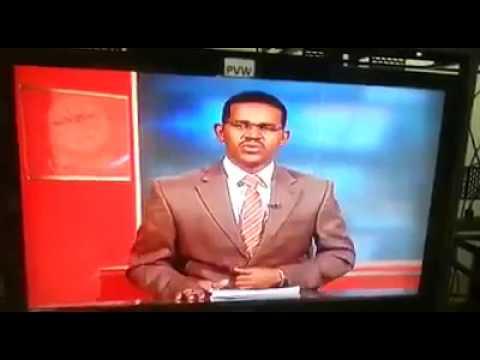 صوت الإمارات - مذيع سوداني يفاجئ المشاهدين في نشرة الأخبار