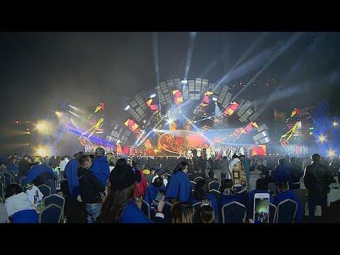 صوت الإمارات - شاهد مهرجان للنجوم الآسيوية في ألماتي