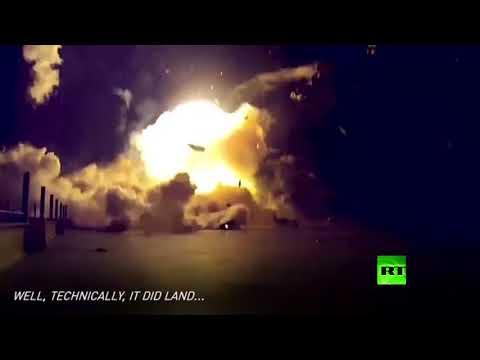 صوت الإمارات - شاهد فيديو لانفجارات فالكون 9 في سبايس إكس