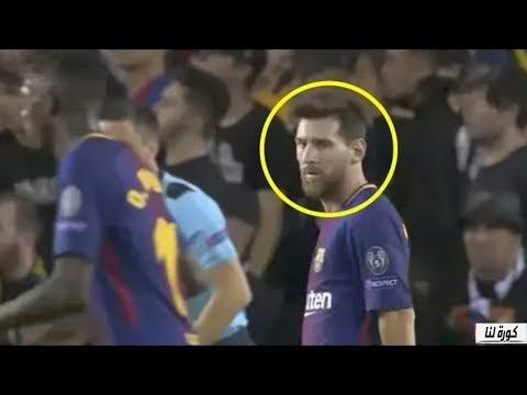 صوت الإمارات - شاهد طريقة تعامل ليونيل ميسي مع ديمبيلي في مباراة برشلونة ضد يوفنتوس
