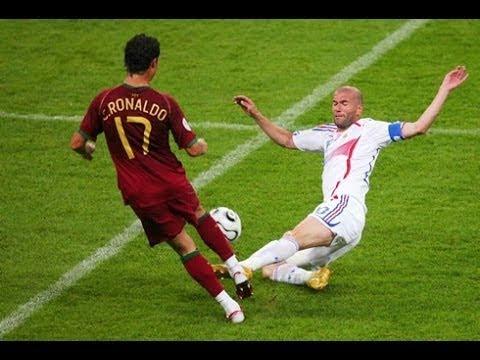 صوت الإمارات - شاهد أول لقاء بين زين الدين زيدان ضد كريستيانو رونالدو
