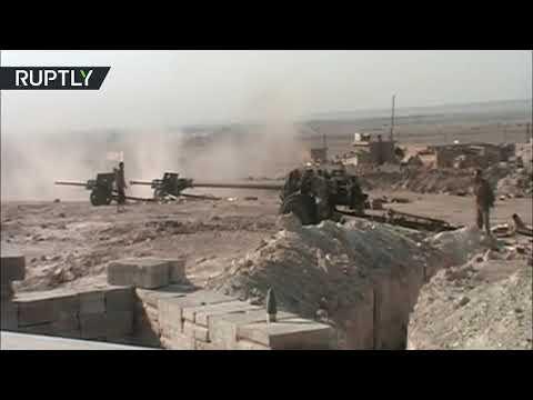 صوت الإمارات - شاهد تحرير بلدة الجفرة في محافظة دير الزور