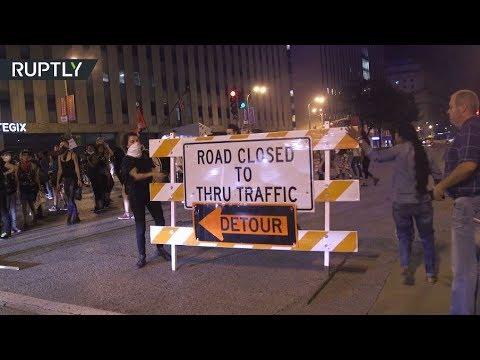 صوت الإمارات - شاهد شغب في سانت لويس الأميركية احتجاجا على تبرئة شرطي