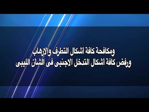 صوت الإمارات - بالفيديو  بيان اللجنة المصرية المعنية في ليبيا