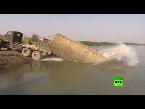 صوت الإمارات - شاهد القوات السورية تعبر إلى الضفة الشرقية للفرات