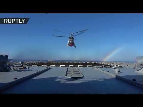صوت الإمارات - شاهد سير مناورات الغرب2017 في مياه بحر البلطيق