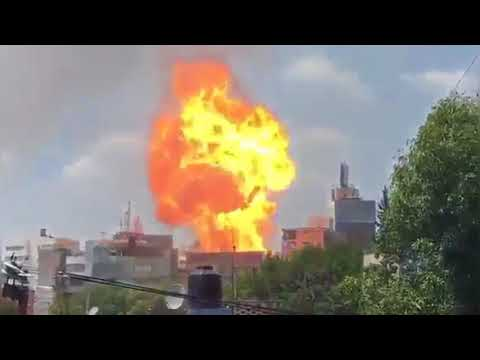 صوت الإمارات - شاهد المشاهد الأولية لهلع المواطنين والدمار في المكسيك