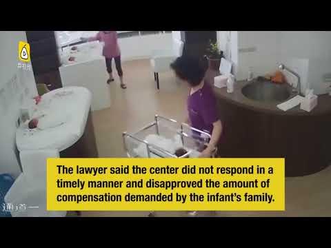 صوت الإمارات - شاهد إهمال ممرضة يتسبب في سقوط طفل حديث الولادة