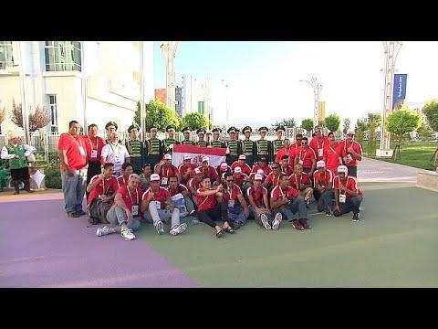 صوت الإمارات - شاهد افتتاح الدورة الخامسة لألعاب الصالات والفنون القتالية