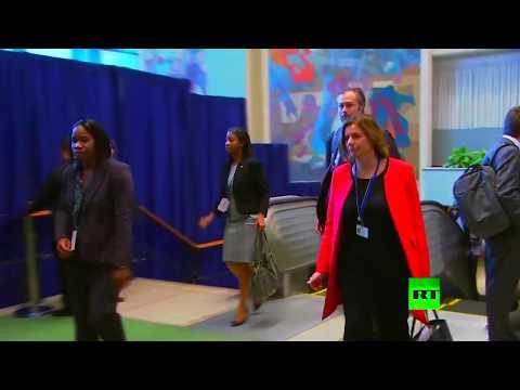 صوت الإمارات - شاهد لحظة وصول وفود العالم إلى مقر الأمم المتحدة في نيويورك