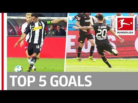 صوت الإمارات - شاهد استمتع بأفضل 5 أهداف في الأسبوع الرابع في البوندزليغا