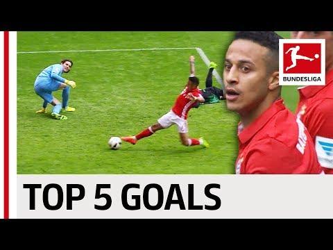 صوت الإمارات - شاهد أفضل 5 أهداف لتياغو ألكانتارا في البوندزليغا