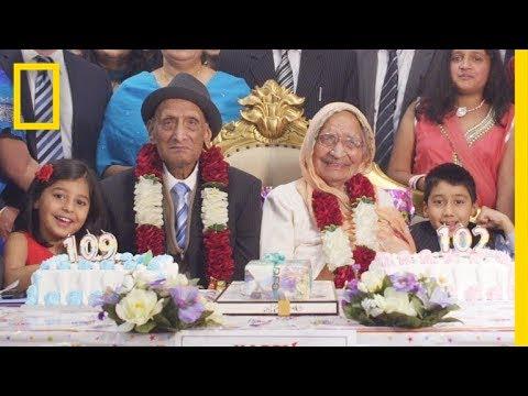 صوت الإمارات - شاهد  قصة حب مدتها 88 عامًا الزوج 109 أعوام