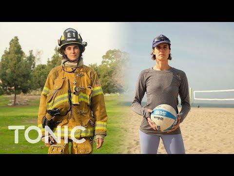 صوت الإمارات - شاهد  تعرف على امرأة الإطفاء الأشهر في العالم