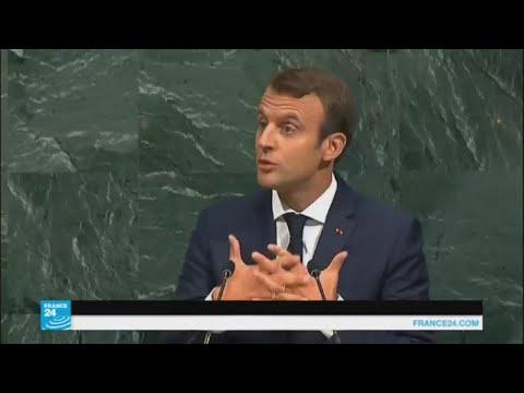 صوت الإمارات - شاهد ماكرون يقترح حلًا للأزمة السورية