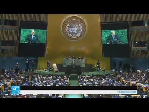 صوت الإمارات - شاهد الرئيس ترامب يهدد ويتوعد كوريا الشمالية وإيران