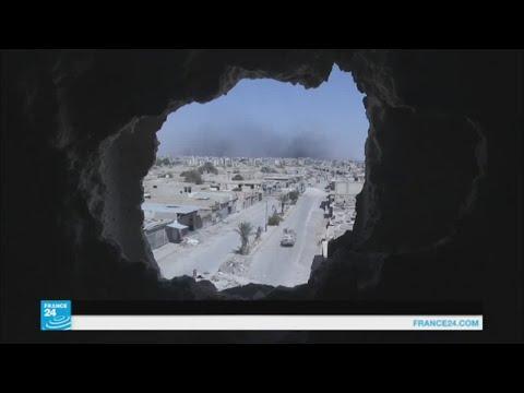 صوت الإمارات - شاهد قوات سورية الديمقراطية تسيطر على 90 في المائة من الرقة