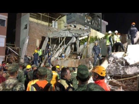 صوت الإمارات - شاهد المكسيك 226 قتيلًا على الأقل في زلزال قوي يضرب وسط البلاد