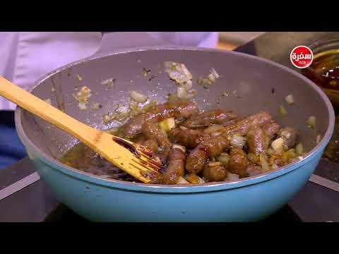 صوت الإمارات - بالفيديو  طريقة إعداد صينية بطاطس بالسجق والثوم