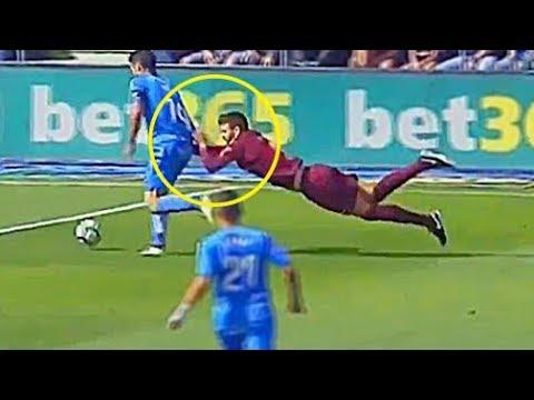 صوت الإمارات - شاهد أبرز الأخطاء المضحكة في كرة القدم
