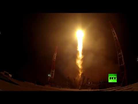 صوت الإمارات - شاهد القوات الفضائية الجوية تطلق سويوز2 بنجاح