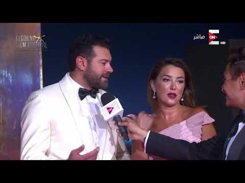 صوت الإمارات - شاهد عمرو يوسف وكندة علوش يتحدثان عن مشاركتهما في مهرجان الجونة