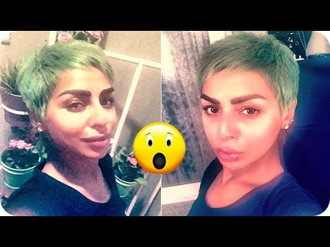صوت الإمارات - شاهد هند البلوشي تصدم الجميع وتصبغ شعرها بلون أخضر