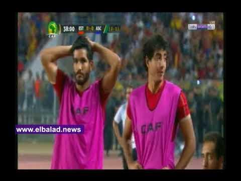 صوت الإمارات - شاهد خنيسي يسجّل الهدف الأول في مباراة الأهلي والترجي من ركلة جزاء