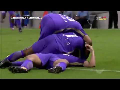 شاهد أهداف مباراة العين أمام فريق شباب الأهلي