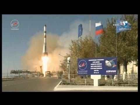 صوت الإمارات - مركبة فضاء روسية في مهمة إمداد للمحطة الدولية