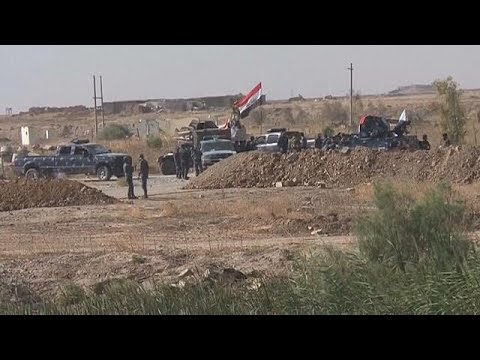 صوت الإمارات - شاهد مواجهات بين الجيش العراقي والبشمركة خارج كركوك
