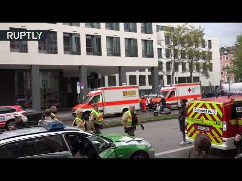 صوت الإمارات - شاهد إصابة 4 أشخاص في عملية طعن في ميونيخ