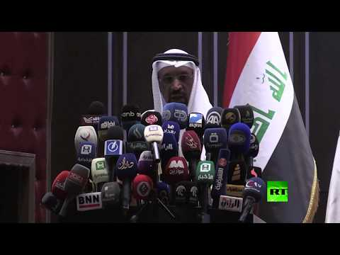 صوت الإمارات - شاهد وزير الطاقة السعودي خالد الفالح يزور معرض بغداد الدولي