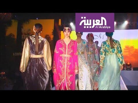 صوت الإمارات - بالفيديو عرض أزياء في لندن ببصمات عربية