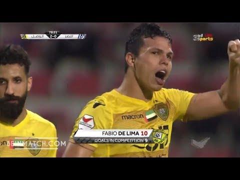 شاهد أهداف مباراة النصر والوصل